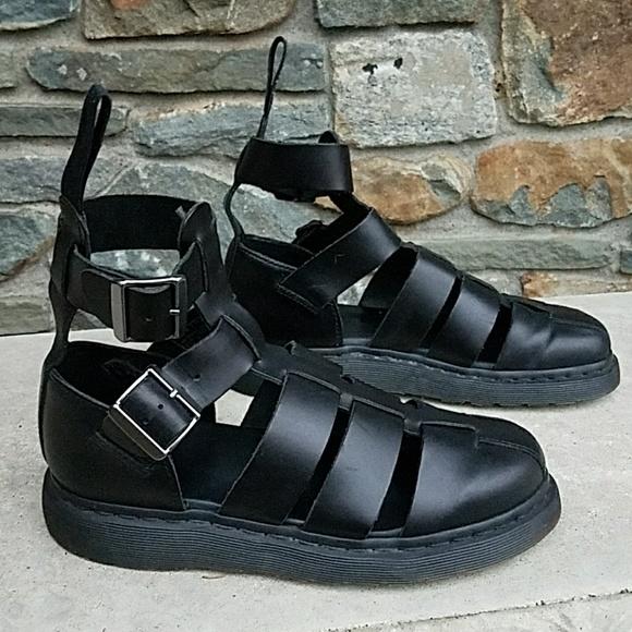 e0adcf8644c Dr. Martens Shoes - Dr Martens Geraldo ankle strap sandals